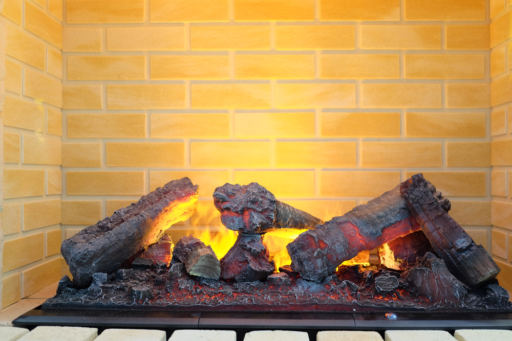 Electric Fireplace Inserts + Logs