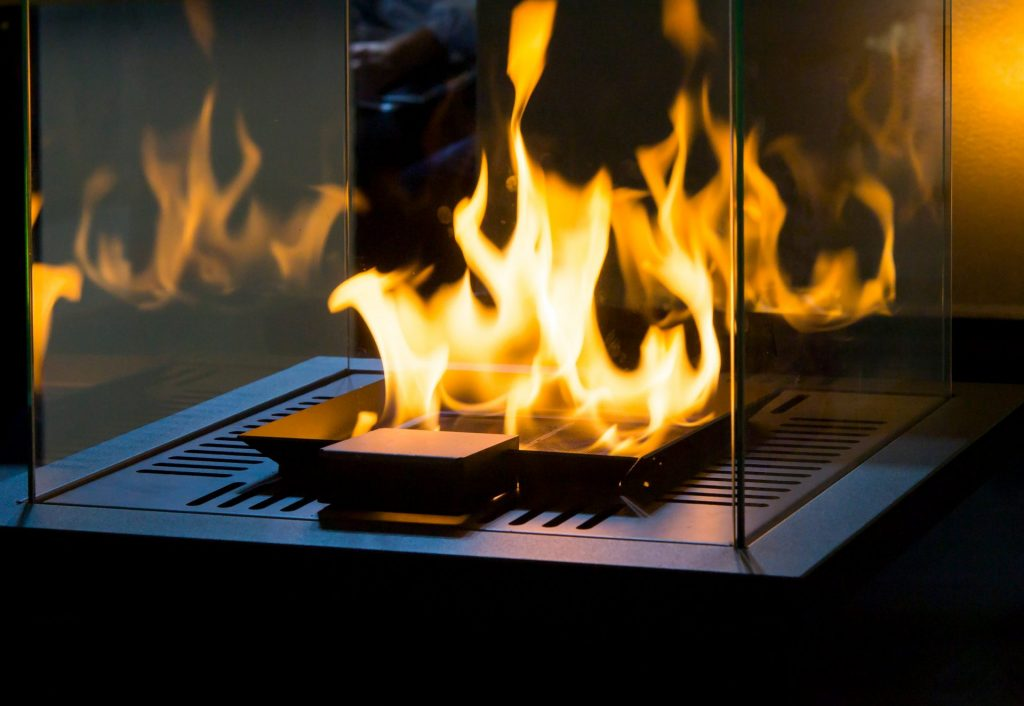 Ethanol Fireplace Work