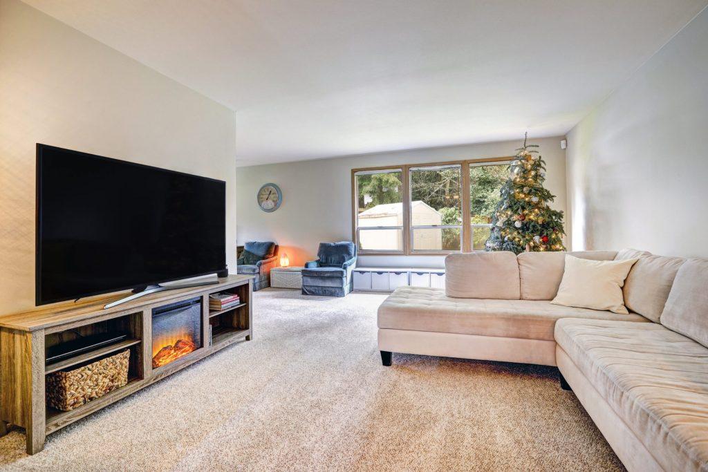 beautiful fireplace tv stand