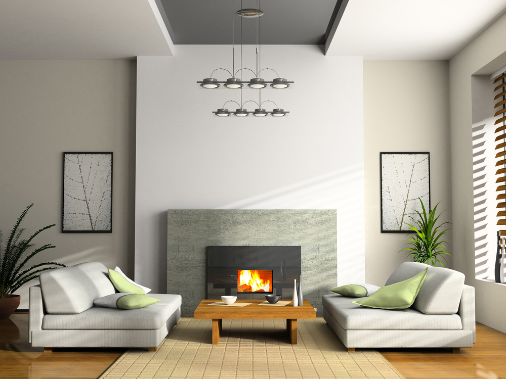 enclosed fireplaces