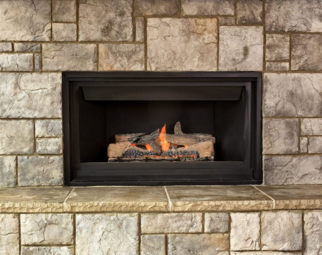 fireplace insert example